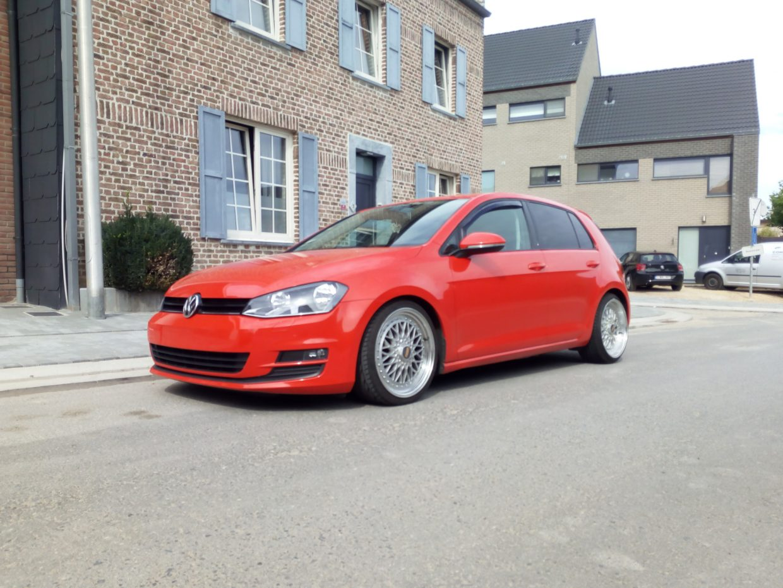 Volkswagen Golf BBS 2