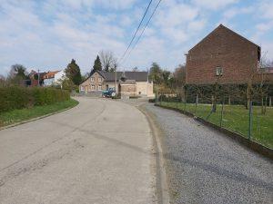 Southern road in Voort