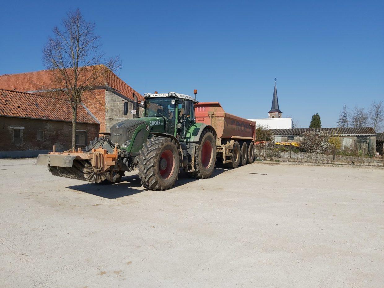 Tractor in Gelinden