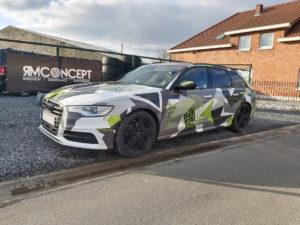 Audi Avant Camo - 1