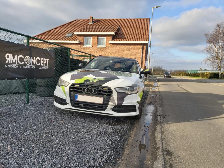 Audi Avant Camo - 2