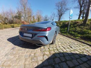 BMW 840 rear side