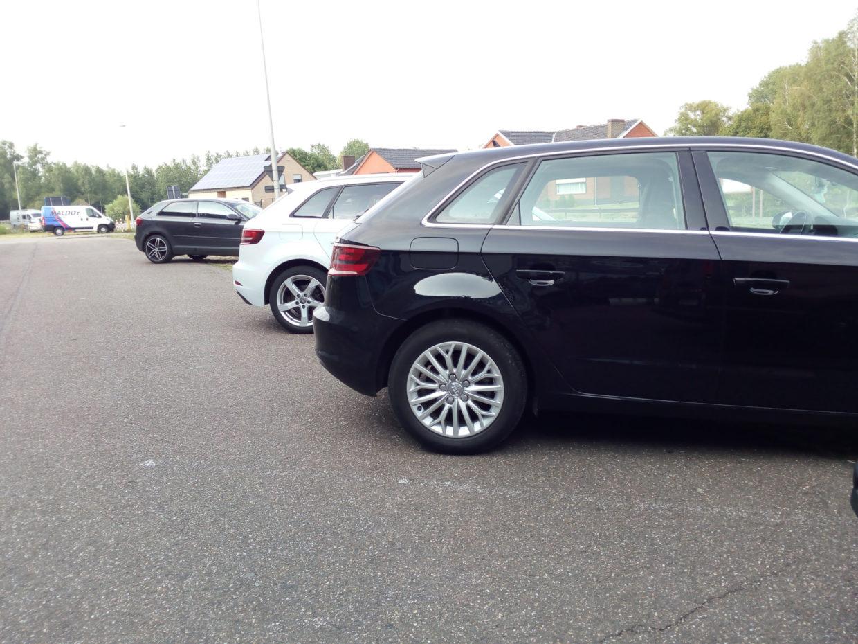 Three Audi A3