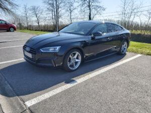 Audi A5 G-Tron black - 2