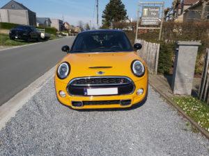 Mini Cooper S (yellow) - 1