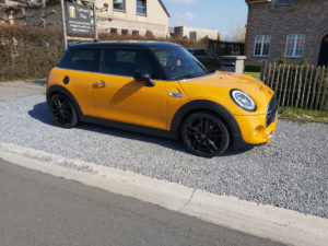 Mini Cooper S (yellow) - 2