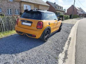 Mini Cooper S (yellow) - 3
