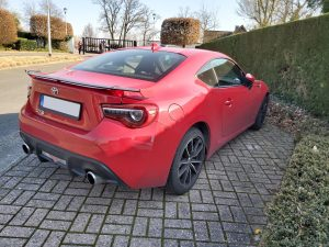 Toyota GT86 red - 2
