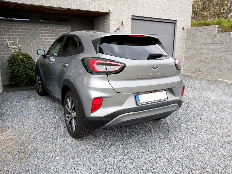 2020 Ford Puma rear side