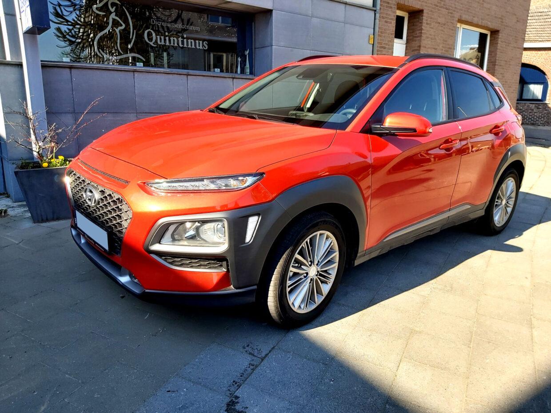 Hyundai Kona red - 1