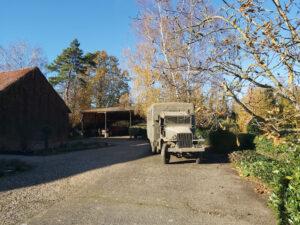 Open air military museum in Ulbeek